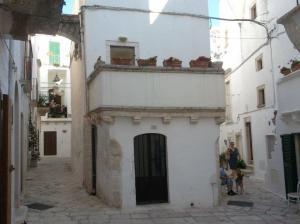 rechteckige Häuschen in Locorotondo