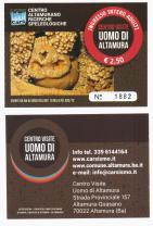 Eintrittskarte Mann von Altamura 001