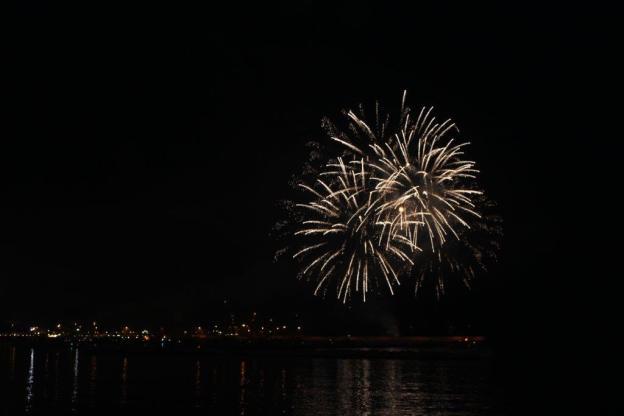 Feuerwerk Festa di San Nicola 2015 1