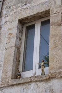 Turi Sant Oronzo neben Domenico Modugno