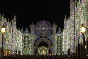 San Nicola im Lichterdom