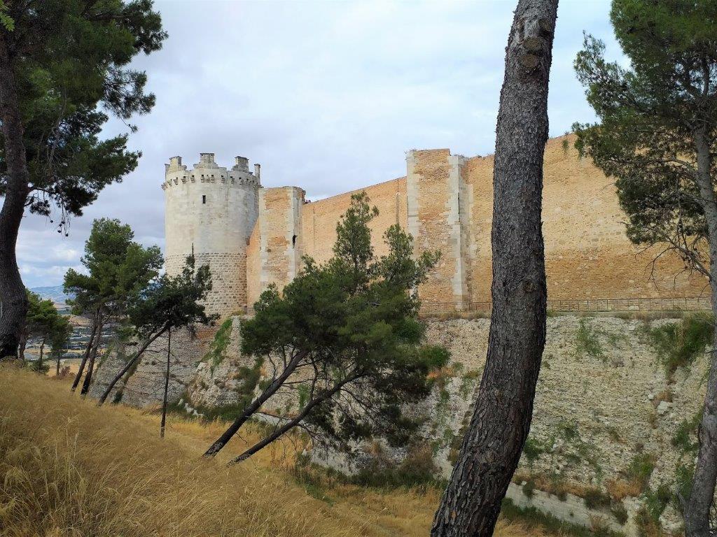 Lucera Castello Mauer